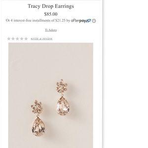BHLDN Tracy Drop Earrings